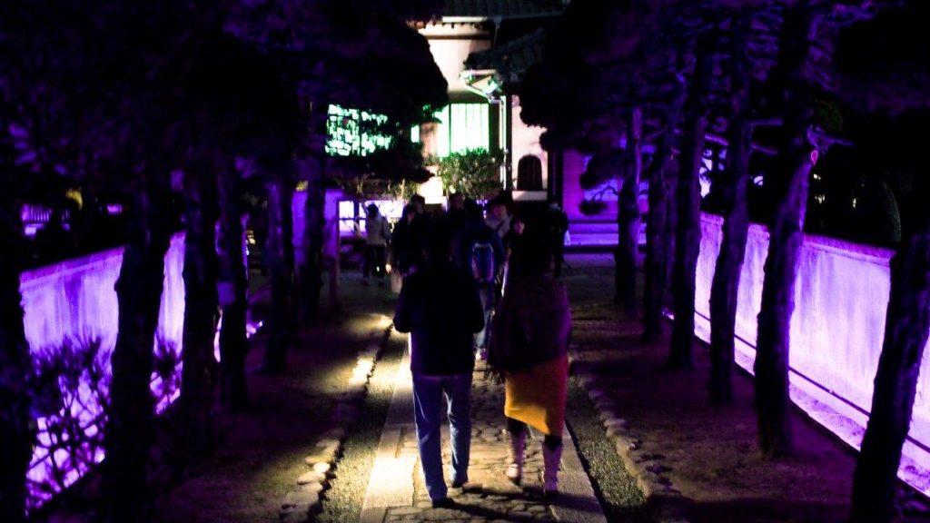 Hakata light-up wandeling