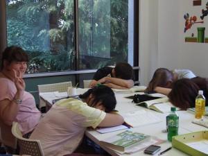 Dead tired class
